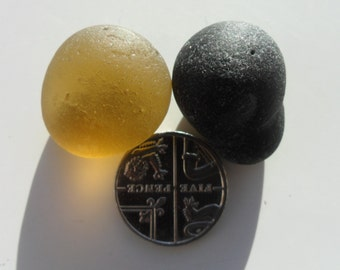 Stoppers -  Beautiful English Seaham Sea Glass - Free Shipping (4797)