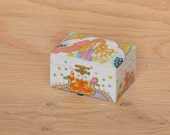Vintage 60's Jewelry Box MOD Teen Girls, Opens With Music And Ballerina With Birds & Flowers