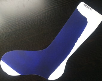 Blue Splash Sock Blockers 4 Sizes
