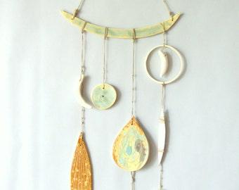 L I T H O S P H E R E : handmade ceramic wall hanging