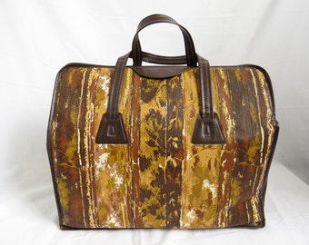 BARK BROWN DOCTOR Bag Vinyl Hinge Frame Tote