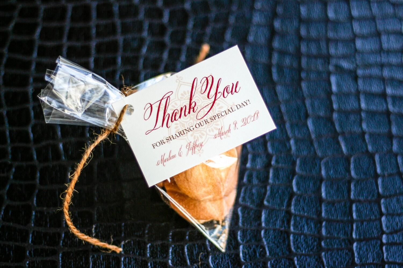 Modern Indian Wedding Invitations Uk: Indian Wedding Invite Thank You Tag Henna Wedding Tag