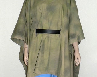 Luke Skywalker or Princess Leia Endor Camouflage Poncho, Star Wars, Episode VI, Return of the Jedi, Cosplay