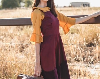 Desert Rose Dress - Handmade by Alice