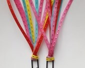 Ribbon Binder Clip- Set 3