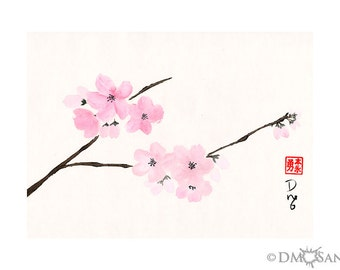 Cherry Blossoms (Print)