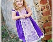 Gooseberry Lane Originals Tangled Rapunzel Princess Dress