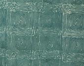 Fat Quarter, Blue Green Swirls, Batik Print, Quilting Cotton Fabric, Squares, 22 x 18, B44