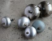 Alarm clock double bells -- set of 6 -- D9