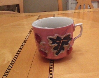 Pink Mustache cup