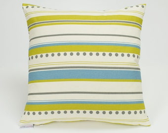 Brook Horizontal Stripe Summerland Pillow Cover - 16 inch