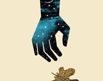 Jose Gonzalez gig poster (2016)