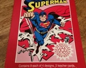 1992 Superman Boxed Valentines