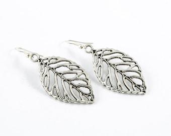 Leaf Silhouette Earrings