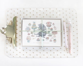 High Tea Kitty Birthday Card (Set of Five)