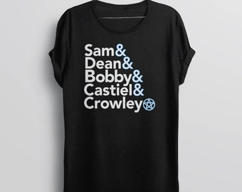 Supernatural Shirt, Supernatural Gift for Women, Supernatural T Shirt, Sam and Dean Winchester Tee Shirt, Supernatural Tshirt, TV Show Shirt
