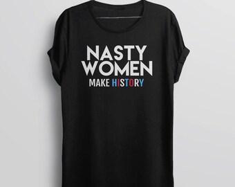 Nasty woman shirt | Etsy