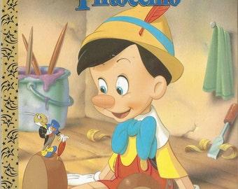 My Coloring Book Walt Disney's Pinocchio, Vintage C1996