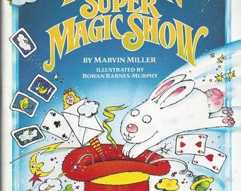 Your Own Super Magic Show Vintage Activity Book, C1984