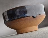 Shaving Bowl Ready To Ship Chawan Dottie Shaving Bowl by Symmetrical Pottery