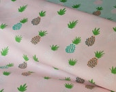 Pinapples Fabric Pink by Rico Design Germany