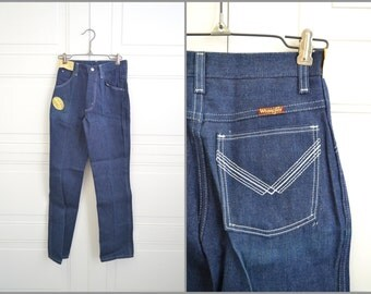 1980s NOS Girl's Wrangler Cotton Denim Jeans