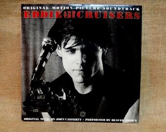 EDDIE and the CRUISERS - Original Motion Picture Soundtrack - 1983 Vintage Vinyl Record Album