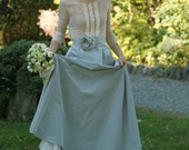 White tulle top - made by your measurements, elegant wedding, transparent top
