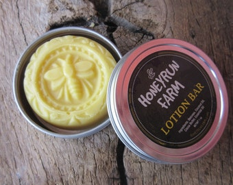 Lotion Bar - made with beeswax, coconut oil, and cocoa butter, 1 oz.