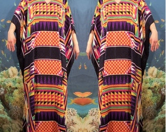 Bright Abtract Caftan