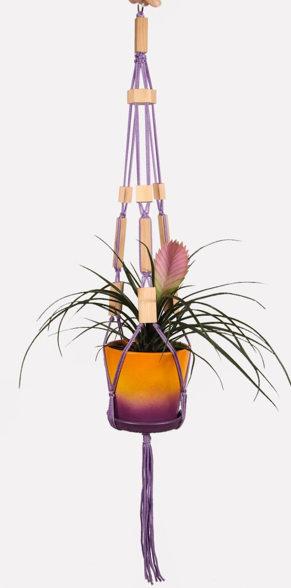 Hanging Planter Indoor Pot Plant Holder Macrame Plant