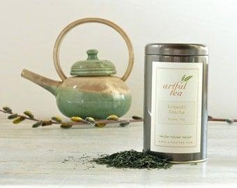 Organic Sencha Green Tea • 4 oz. Tin • Classic Japanese Loose Leaf Tea