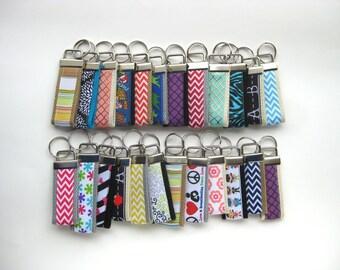 Mini KEY FOB- Wristlet Keychain Holder- Womens Key Ring- Key Lanyard- Wrist Key Fob- Wrist Key Chain- Womens Gift for Her- Gift Under 10