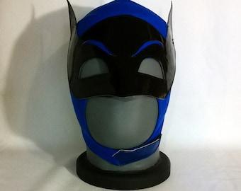 Batman mask Adam West style Wrestling Lucha Libre Mask Halloween luchador Mardi Gras DC Comics superhero mask masquerade comiccon