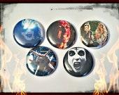 "Deathgasm 1"" Button Choose Your Own"
