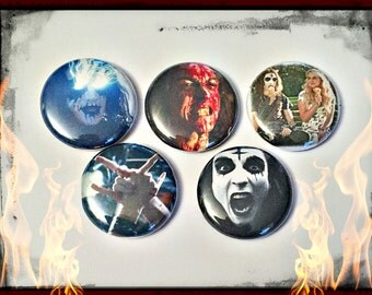 "Deathgasm 1"" Button Choose Your Own"