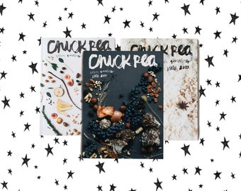 chickpea magazine winter collection - vegan vegetarian indie quarterly w recipes & writing