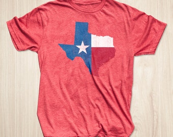 Texas Flag T-shirt, Texas T-shirts