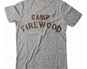 Camp Firewood Arch Limited Edition Unisex Camper Tshirt