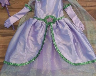 Princess Presto Inspired Gown w/ all accesories