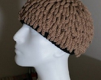 Knitting Pattern For Nudu Hat : Dreadlocs hat Etsy