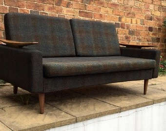 Mid Century sofa 1960's by Greaves and Thomas.