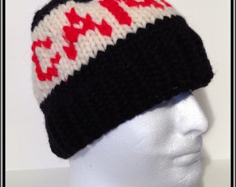 Canada Cowichan Style Wool Toque