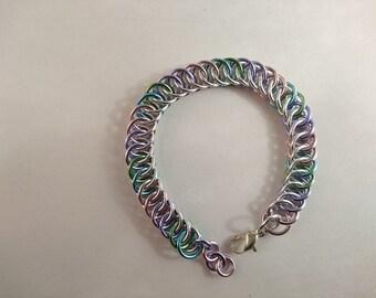 Solar Prism - Cross Weave Chain Mail -Bracelet - My Little Pony