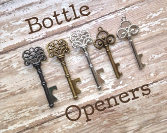 Realtor Promo Gifts - Skeleton Key Bottle Openers - Perfect for Client Gifts!