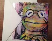 Best Friends Postcards, 3-Piece Illustration Set