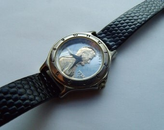 Ladies Watch Penny Coin Dial Two Tone