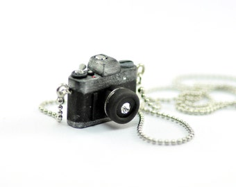 Canon AE-1 Camera miniature Necklace