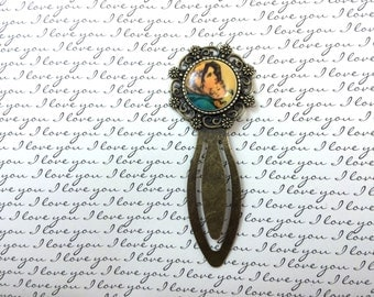 Mary and the Child Jesus Bookmark - Catholic Bookmark - Cameo Bookmark - Madonna of the Streets Bookmark - Blessed Mother Bookmark