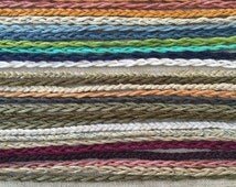 Earth Friendly Tie On Hemp Anklets - Choose Your Favorite Color(s)